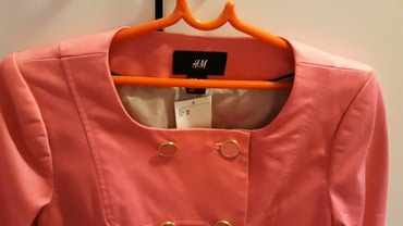 Nova jaknica -sako sa etiketom H&M br 38.prelepa ciklama boja. - Crvenka