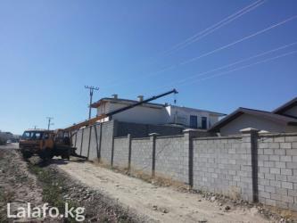 Кран.Все виды работ подъём кирпича в Бишкек