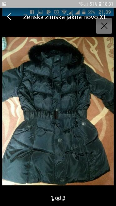 Zenska zimska jakna vel. XL kao nova - Belgrade