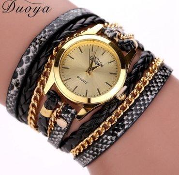 Ženski satovi narukvice Boje kao sa slike: crna, plava, braon, zlatna, - Nis - slika 2