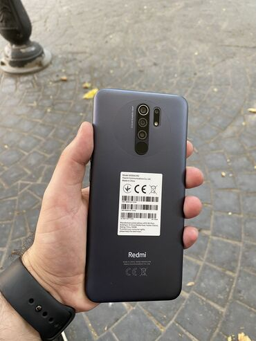 Yeni Xiaomi Redmi Note 9 64 GB qara