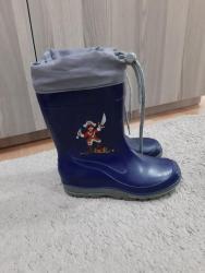 Dečije Cipele i Čizme - Nis: Kvalitetne gumene čizme kao nove br.32-20cm