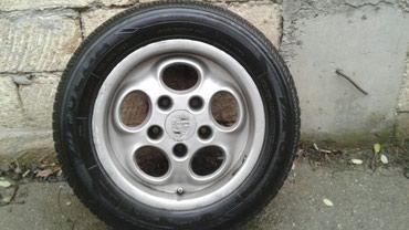 Bakı şəhərində Porsche diskileri (1 komplekt) pokriwkalarla