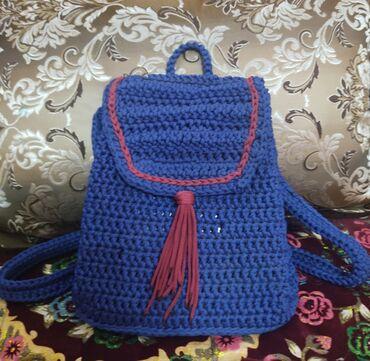 сумка для малышей в Кыргызстан: Продаю женскую вязанную, эксклюзивную, а главное качественную сумочку