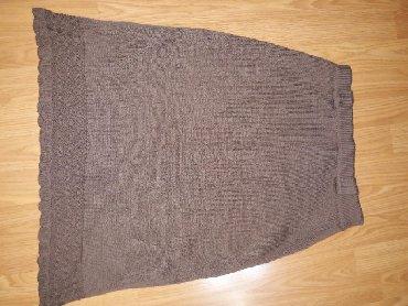 Suknja,trikotaza,nepostavljena. duz.64,sirina pojasa bez rastezanja - Smederevo
