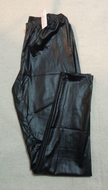 XXL veličina, nove helanke od imitacije kože, meke i rastegljive