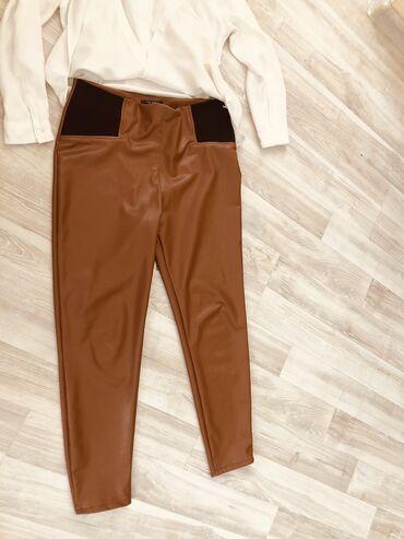 Личные вещи - Бишкек: Кожаные штаны размер 46-48