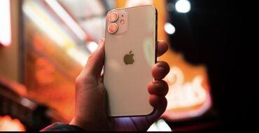 Apple Iphone - Состояние: Б/У - Бишкек: Б/У iPhone 12 mini 64 ГБ Белый