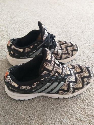 Ženska obuća | Uzice: Adidas running ženske patike. Mane vidljive na fotografijama