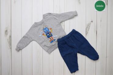 Дитячий костюм (кофта на штани) LC Waikiki, вік: 6-8 м.   Довжина: коф
