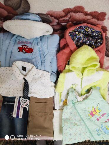 Детские вещи комбинезоны с 1 месяца. Белый 1-3 месяца -500 сом. Крас