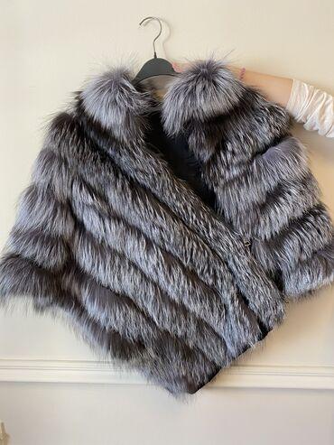 Pončo od polarne lisice, iznutra jaknica 220e
