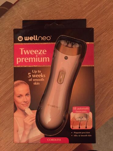 WELLNEO epilator nov