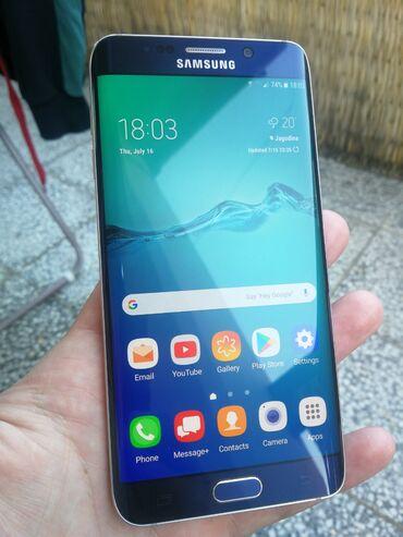Mobilni telefoni   Jagodina: Samsung Galaxy S6 Edge Plus 32 GB plavo