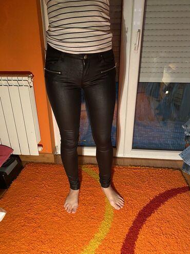 Jakna new - Srbija: New Yorker kozne pantalone,nosene par puta. Velicina 28
