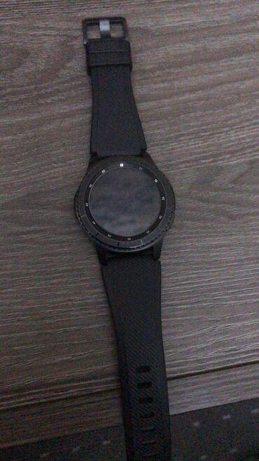 samsung gear s3 в Кыргызстан: Черные Унисекс Наручные часы Samsung