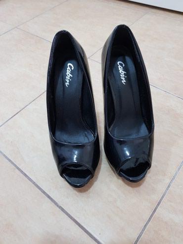 Ženska obuća | Futog: Cipele crne, nosene par puta. U dobrom stanju. broj 38