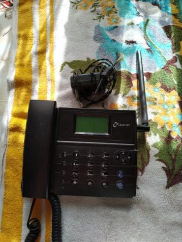 Телефон - Кыргызстан: Продаю городской телефон sapatcom в хорошем состоянии