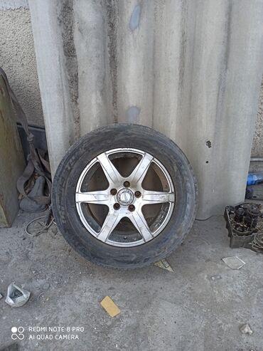 диски на авто в Кыргызстан: Продаю диски с резиной 5*114.3 подходят на многие авто сняты с Тоета