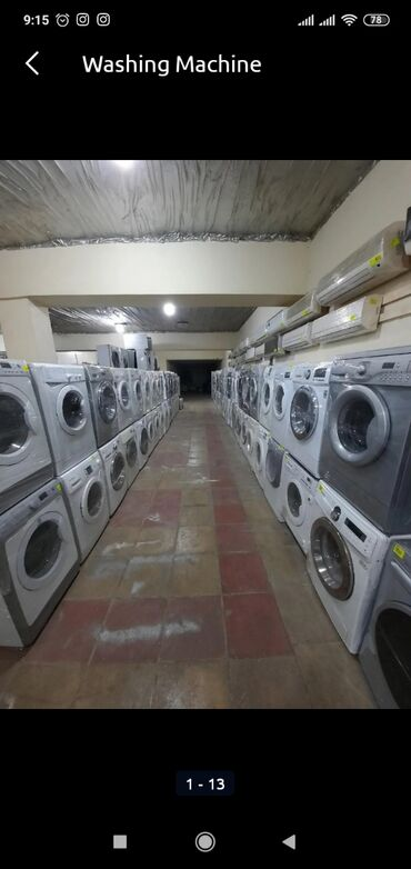 Öndən Avtomat Washing Machine
