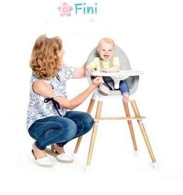 Stolica za hranjenje - Srbija: Najelegantnija stolica za hranjenje Jedinstven dizajn koji prati