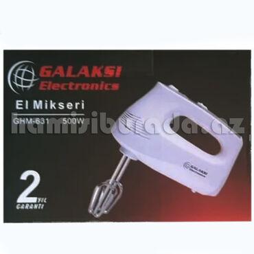 Mikser Galaksi Electronics GHM-631Brend:Galaksi ElectronicsTip: Əl