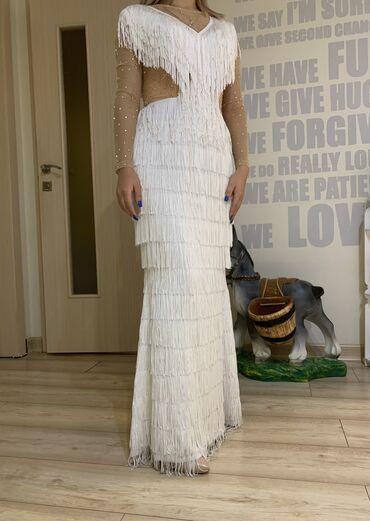 1808 объявлений: Очень красивое и элегантное платье от Наиля Байкучукова. Размер