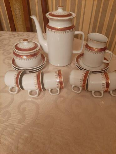 Kofe aparatlari - Азербайджан: Kofe desti çexislavakiyanin kofe çaskanin birinde qiraqi dusub