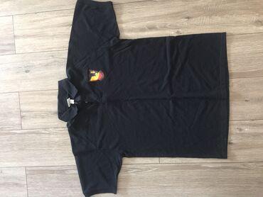 Черная новая футболка Поло с Америки. Размер XL 1000 сом