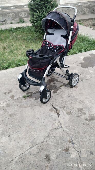 Детский мир - Кемин: Продаю коляску и и ходунок в отличном состоянии