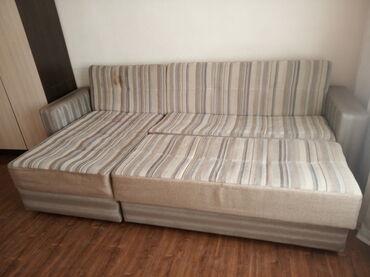 Диваны - Кыргызстан: Продаю диван в хорошем состоянии, состоит из 3-х секций, все 3 части