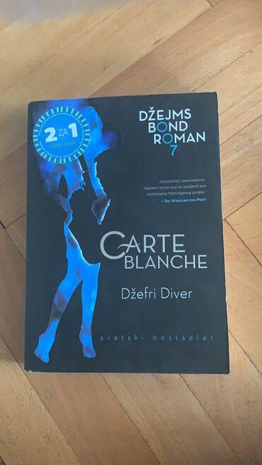 Voile blanche - Srbija: Nova knjiga triler Carte Blanche Vulkan izdavastvo Alnari