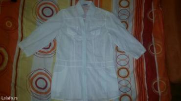 Nova bela lanena košulja /tunika. Bez oštećenja. Veličina l. - Pancevo