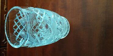 Советская, хрустальная ваза
