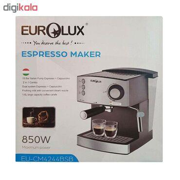 """Qəhvədəmləyən """"Eurolux EU-CM4244BSB""""Buxar funksiyalı """"Eurolux"""""""