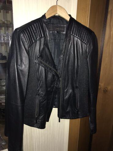 Продаю кожаную куртку (косуху) Zara, размер M-XL, кожа мягкая, 2