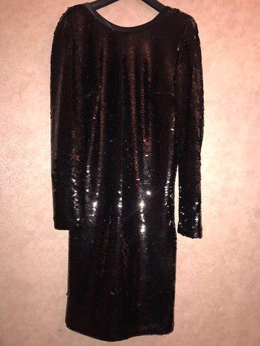 Bakı şəhərində Платье в отличном состоянии, сшитое на заказ, размер 42/44