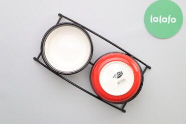 Стійка з двома керамічними мисками Trixie для кішок (2 шт.)    Бренд