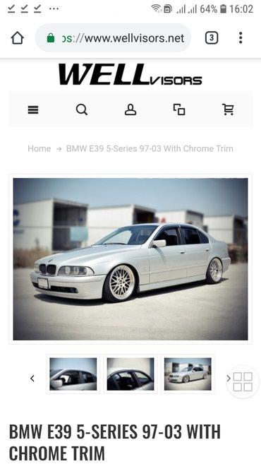 Ветровики на BMW E39. 5 серия в Бишкек