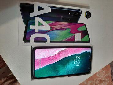 qala konstruktorları - Azərbaycan: Samsung A40   64 GB   qara   Yeni   Sensor, Barmaq izi, İki sim kartlı