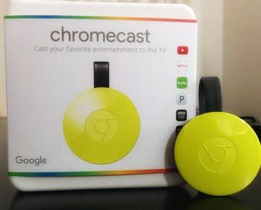 Google Chromecast Lemonade (GA3A00180-A14-Y20) в Бишкек