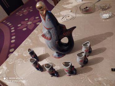 Antik balig suviner bəzək əşyası . Çox yaxşı vəziyyətdədir. 30 35