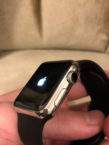 Apple Watch Stainless steel series 1, ideal veziyyetde, amerikadan