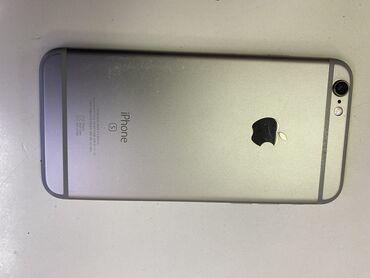 apple iphone 6 s в Кыргызстан: Б/У iPhone 6s 32 ГБ Серый (Space Gray)