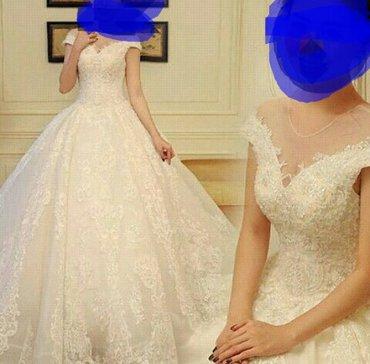 Продаю шикарное свадебное платье, в Бишкек