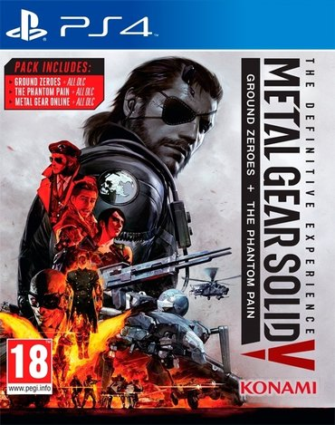 Игра на Sony Playstation 4 Metal Gear Solid 5: Phantom Pain + в Бишкек
