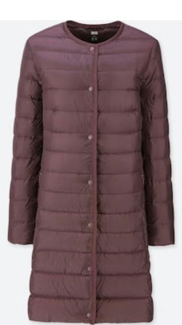 куртки юникло в Кыргызстан: Куртка юникло, с официального сайта Юникло. цвет бордовый, размер М
