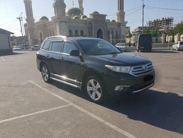 кнопкасы бар машина в Кыргызстан: Toyota Highlander 3.5 л. 2013 | 100000 км