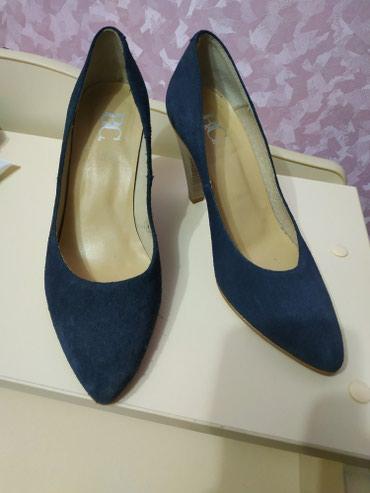 Замшевые туфли. Одевали один раз.Размер 38. Цена окончательная! в Бишкек