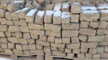 Продаю кирпичи из глины.... бу осталось 200-300шт в Бишкек